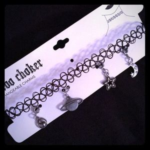 Choker with charms